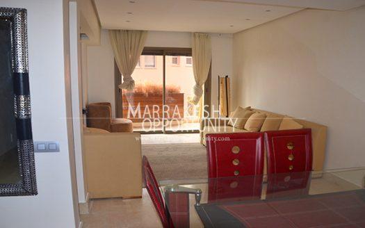 Vente Appartement au cœur du centre ville guéliz idéalement situé sur l'un des boulevard principal, dans une résidence de haut standing, calme et sécurisé