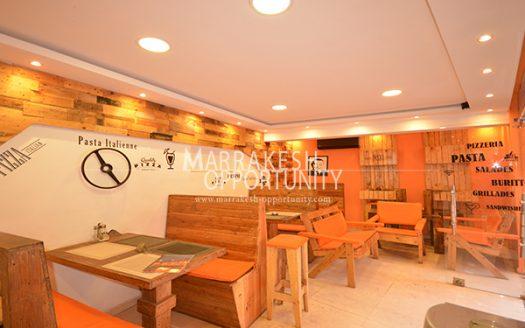 Location restaurant snack,
