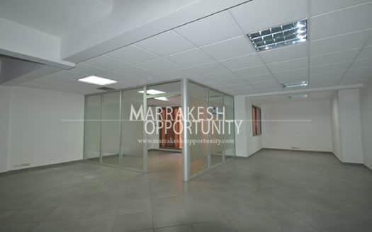 Vente bureau duplex situé en plein centre ville de Marrakech proche de tous commerce (loisir et shoping), dans un centre d'affaire sécurisé, L'agence immobilière Marrakech opportunity