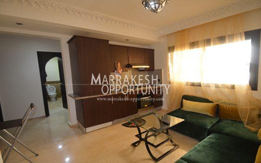Location appartement idéalement au cœur de la nouvelle ville de Marrakech a deux pas du centre commerciale « Acima guéliz » poche de tous commerces (loisir et shopping)