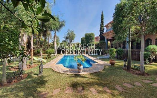 Vente luxueuse villa